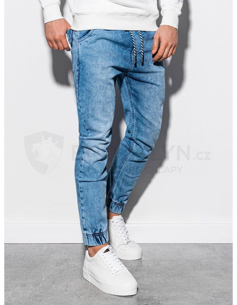 Pánské riflové kalhoty P907 - světle modré