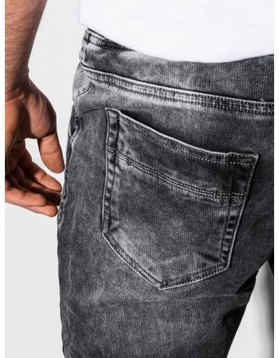 Men's jeans joggers P907 - grey