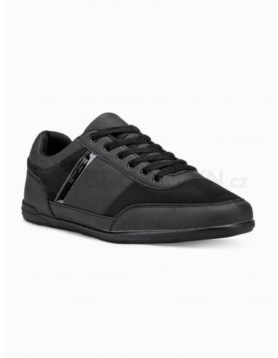 Men's casual sneakers T338 - black