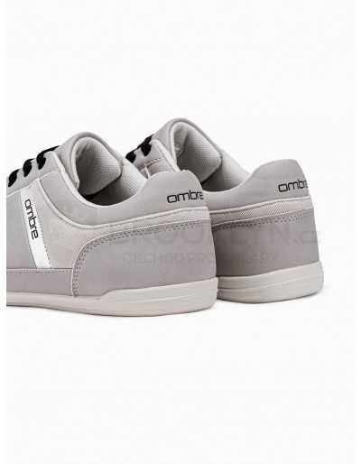 Men's casual sneakers T338 - grey