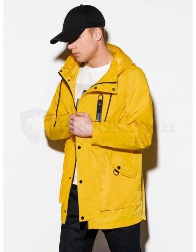 Pánská zimní bunda C440 - žlutá