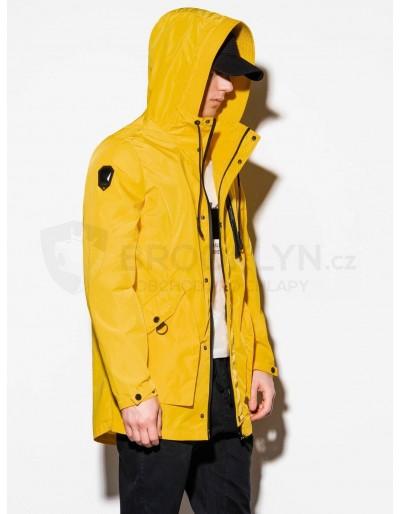 Men's mid-season jacket C440 - yellow