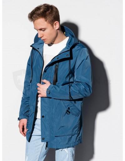 Pánská zimní bunda C440 - modrá
