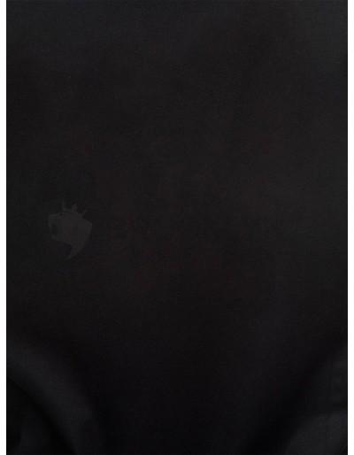 Men's elegant shirt with long sleeves K307 - black