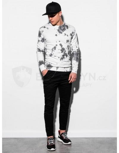 Men's Tie-Dye sweatshirt B1044 - white
