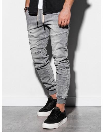 Pánské riflové kalhoty P551 - šedé
