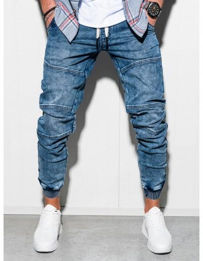 Pánské riflové kalhoty P551 - modré