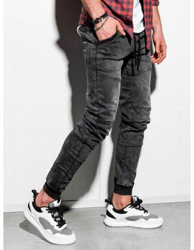 Pánské riflové kalhoty P551 - černé