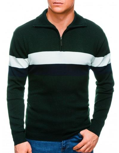 Pánský svetr E184 - zelený