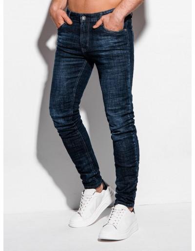 Pánské džíny P1013 - tmavě modré