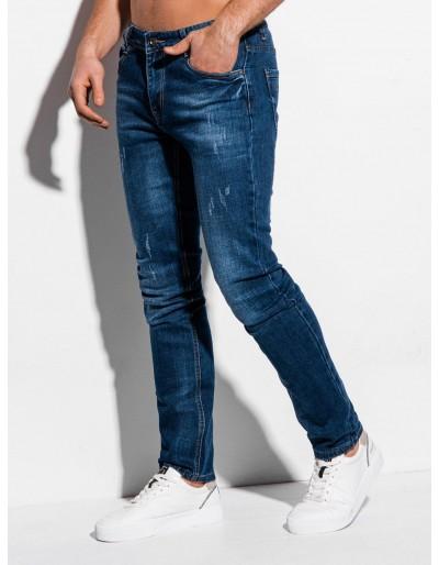 Pánské džíny P1014 - tmavě modré