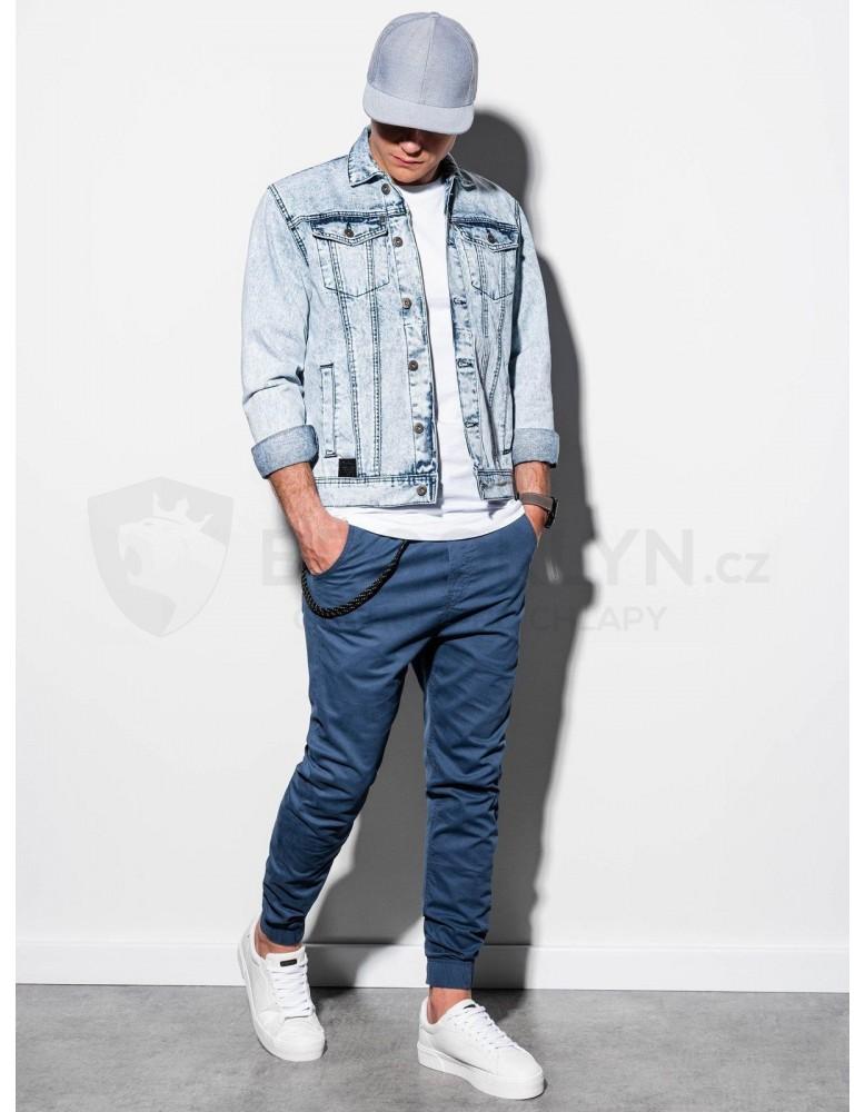 Pánská bunda střední sezóny C441 - lehké džíny