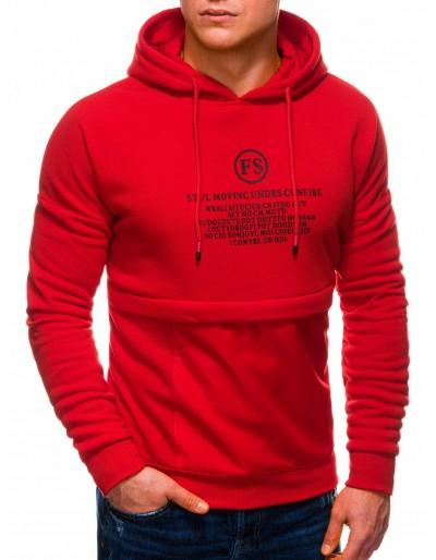 Men's hoodie B1244 - red