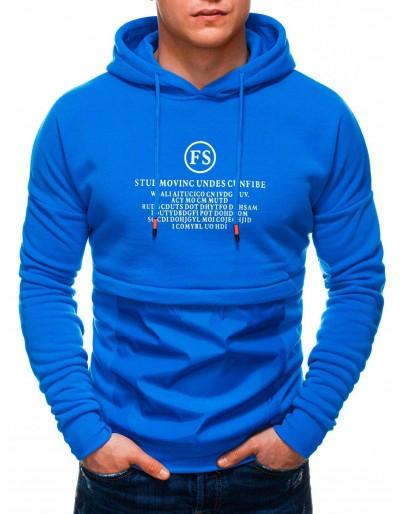Pánská mikina B1244 - modrá