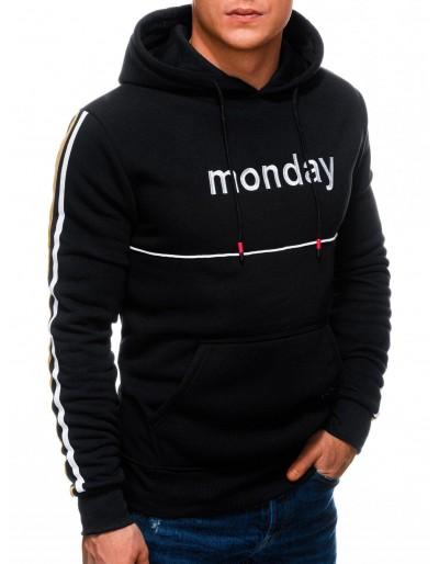 Men's hoodie B1240 - black