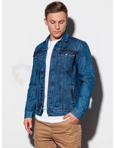 Pánská bunda střední sezóny C441 - džíny