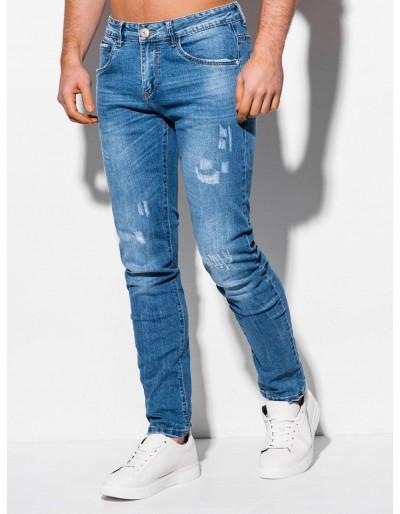 Pánské džíny P1017 - světle modré