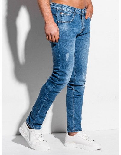 Men's jeans P1017 - light blue
