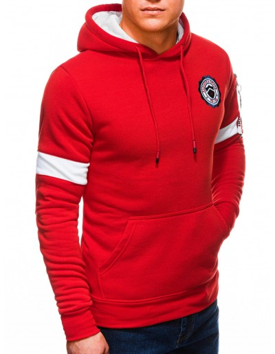 Men's hoodie B1241 - red