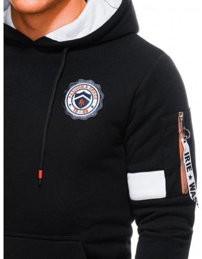 Men's hoodie B1241 - black