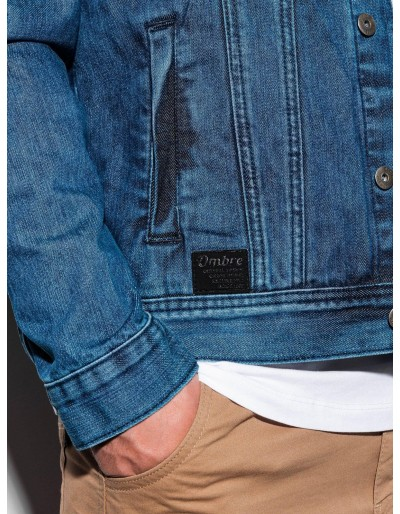 Men's mid-season jeans jacket C441 - jeans