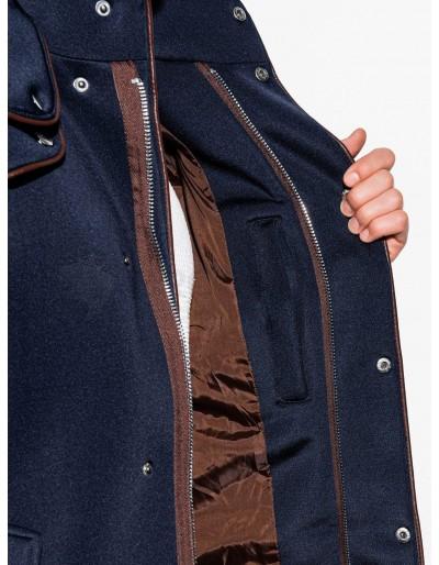 Men's hooded coat C200 - navy