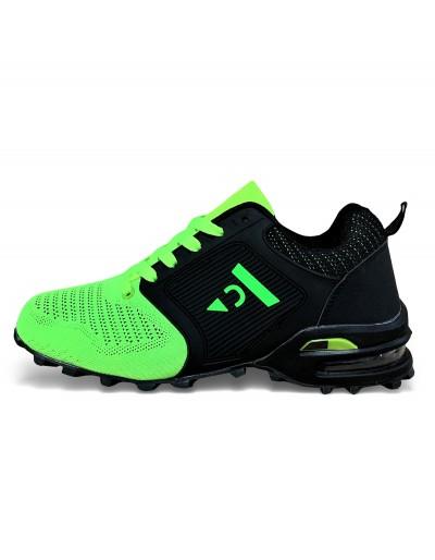 Pánské sportovní outdoorové boty - zelené