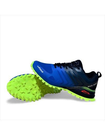 Pánská sportovní outdoorová obuv Max Grip - neon