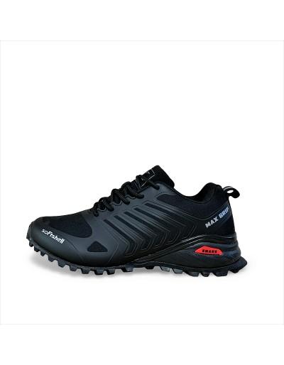 Pánská sportovní outdoorová obuv Max Grip - černé