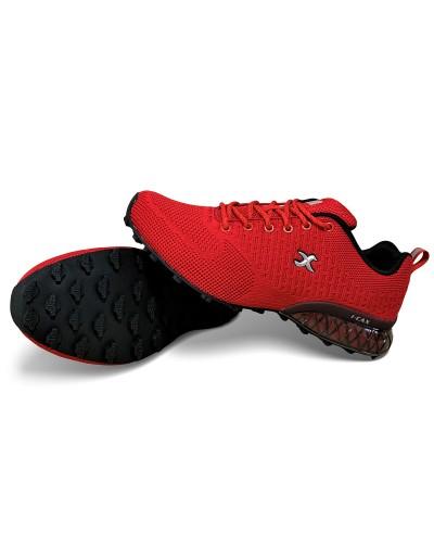 Pánská sportovní outdoorová obuv I-cax 4722M6 červené
