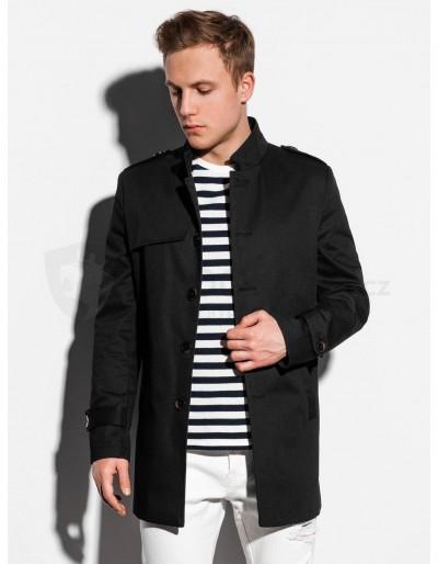 Pánský podzimní kabát C269 - černý