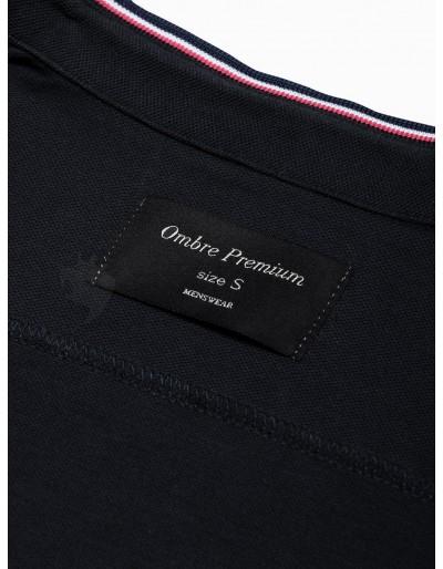 Men's shirt with long sleeves K542 - black