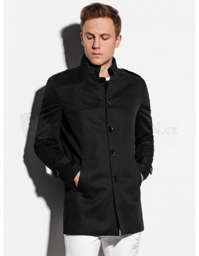 Men's autumn coat C269 - black