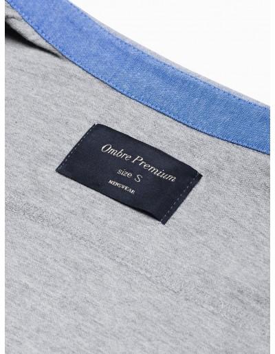 Men's shirt with long sleeves K540 - grey