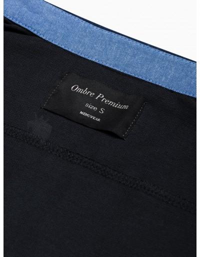 Men's shirt with long sleeves K540 - black