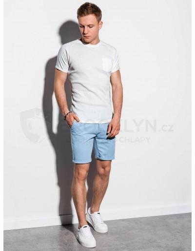 Men's plain t-shirt S1182 - white