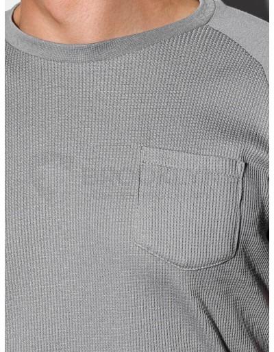 Men's plain t-shirt S1182 - grey