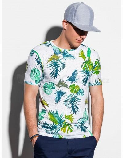 Pánské tričko s potiskem S1293 - bílé