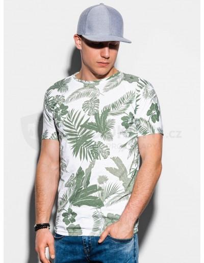 Pánské tričko s potiskem S1297 - zelené