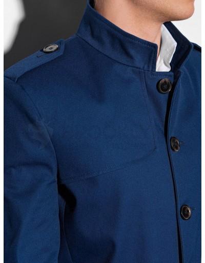 Men's autumn coat C269 - navy