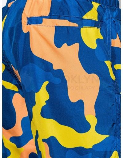 Men's swimming shorts W248 - blue