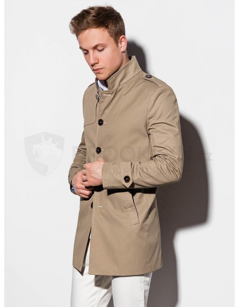 Pánský podzimní kabát C269 - béžový