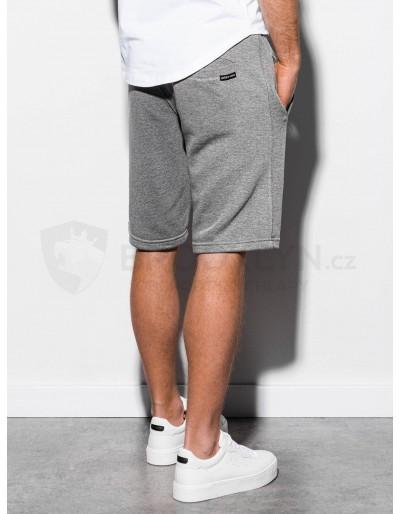Men's sweatshorts W238 - grey melange