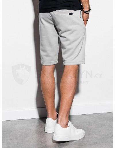 Men's sweatshorts W238 - light grey
