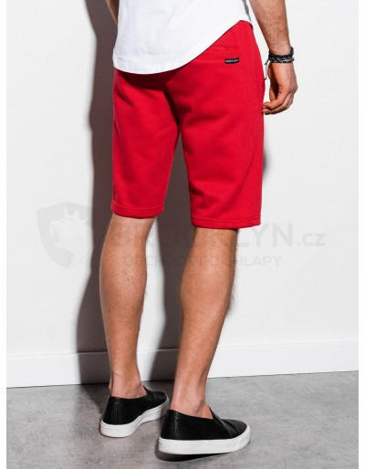 Men's sweatshorts W238 - red