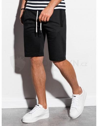 Men's sweatshorts W238 - black
