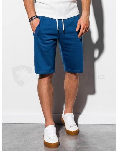 Men's sweatshorts W238 - dark blue