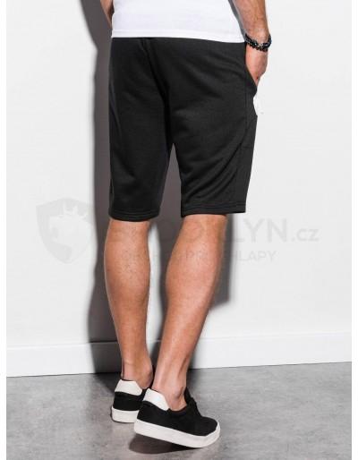 Men's sweatshorts W239 - black