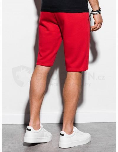 Men's sweatshorts W239 - red