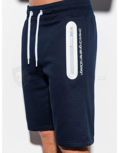 Men's sweatshorts W239 - navy